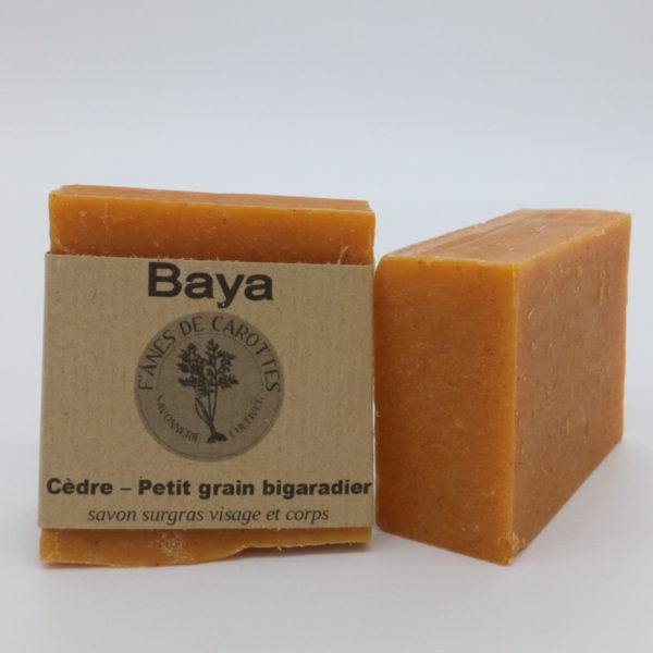 savon surgras baya f'ânes de carottes