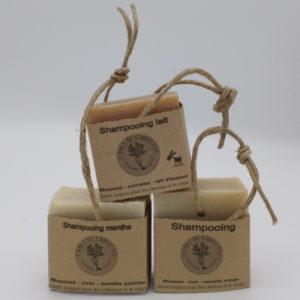 shampooing au lait, f'ânes de carottes