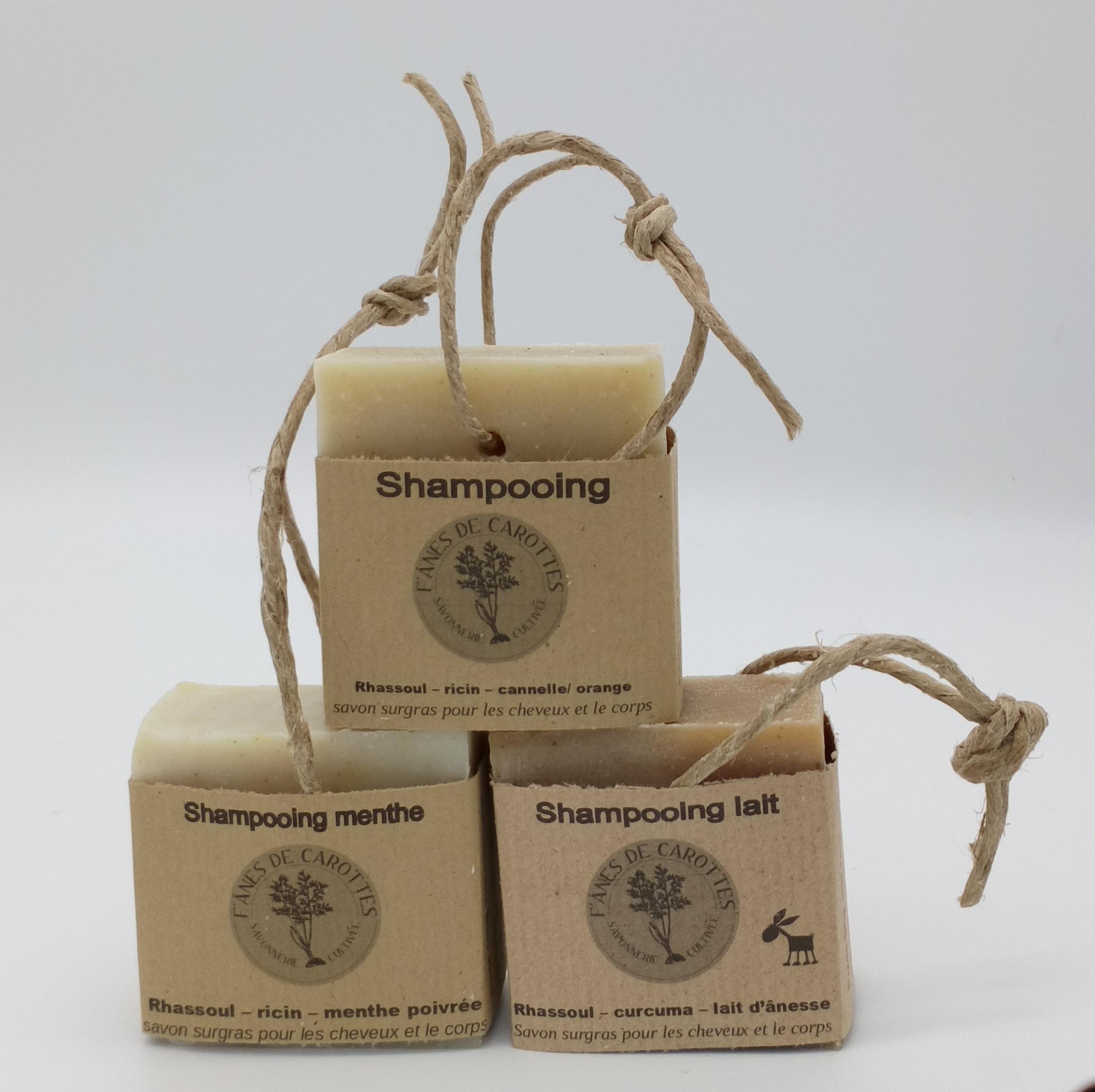 shampooing, f'ânes de carottes