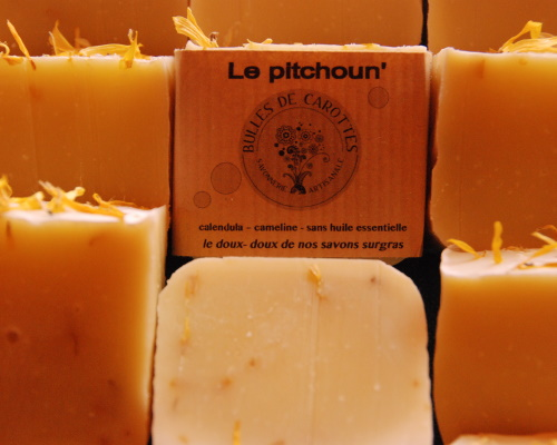 les savons antiseptique et anti mains seches, savonnerie f'ânes de carottes