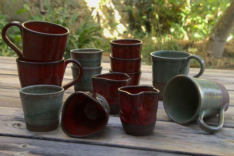 poterie artisanale porte savon f'ânes de carottes