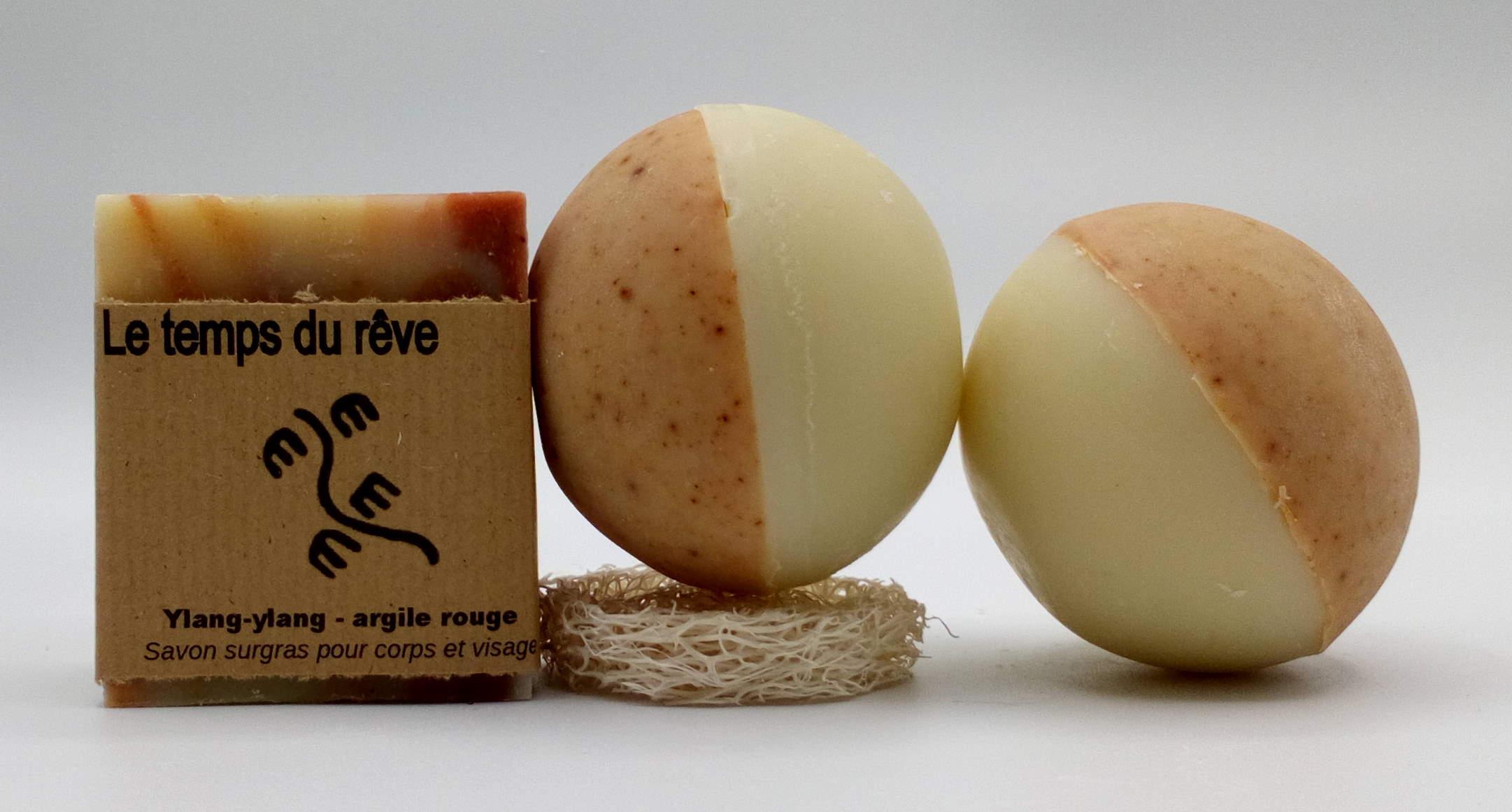 sphère zen savons ronds savons naturels f'ânes de carottes